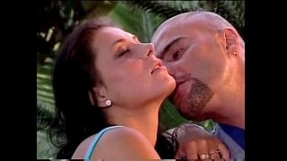 two hot couples fucking in the garden